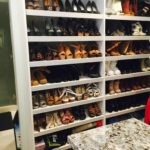 utah custom cabinets shoe space