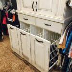 utah custom cabinets pullout hamper