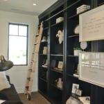 Utah custom cabinets and bookshelves