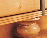utah cabinets bun foot