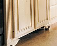 utah cabinets fluted columns