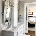 utah custom white bathroom vanity