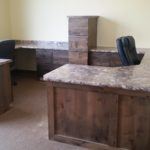 utah office custom cabinets