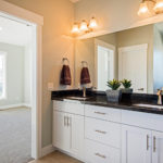 white custom bathroom cabinets 1498