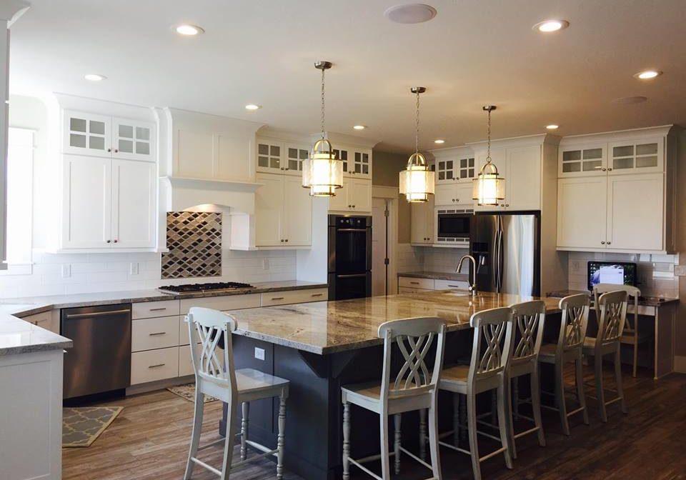 utah white custom kitchen cabinets 960